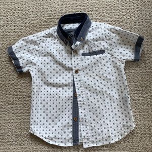 3T Button Up Shirt Top Eighty Eight